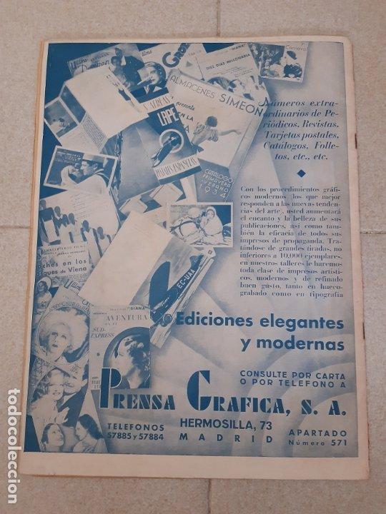 Cine: REVISTA CINEGRAMAS, PAT PATERSON. Nº 27 DE ENERO DE 1935. - Foto 2 - 174309107