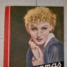 Cine: REVISTA CINEGRAMAS, BRIGITTE HELM. Nº 19, 20 DE ENERO DE 1935.. Lote 174312900