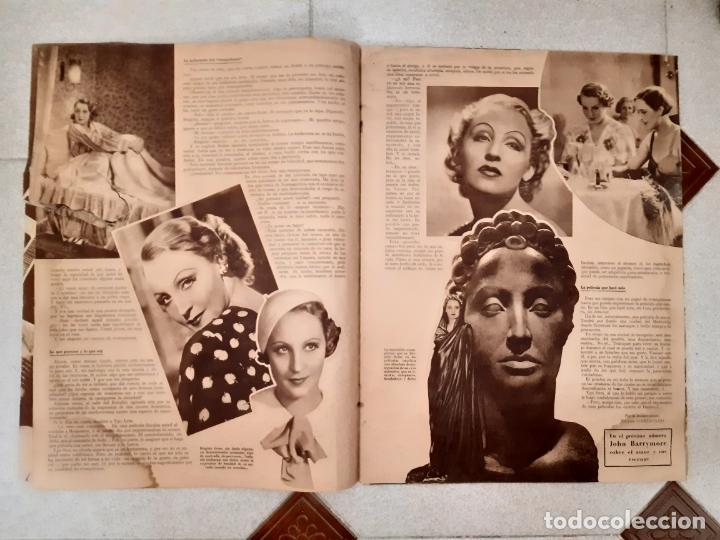 Cine: REVISTA CINEGRAMAS, DOLORES DEL RIO. AÑO I, Nº 1 (1934). - Foto 2 - 174313417