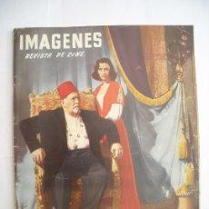 Cine: IMÁGENES LA PRIMERA REVISTA ESPAÑOLA DE CINE Nº NÚMERO 143 DICIEMBRE DE 1955 ANUNCIOS FOTOS DE ÉPOCA. Lote 174615274