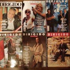 Cine: LOTE DE 6 REVISTAS DIRIGIDO POR. Nº 116, 196, 199, 206, 207 Y 245.. Lote 174639038
