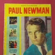 Cine: PAUL NEWMAN - REVISTA PARA MAYORES - COLECCION CINECOLOR - 17X24 CM... L307. Lote 175184288
