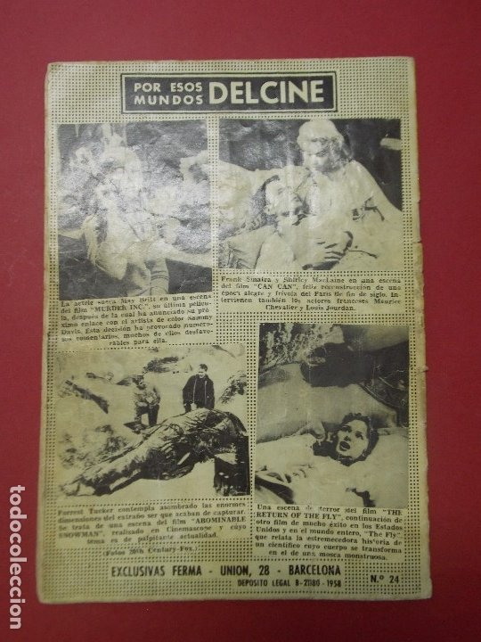 Cine: PAUL NEWMAN - REVISTA PARA MAYORES - COLECCION CINECOLOR - 17X24 CM... L307 - Foto 7 - 175184288
