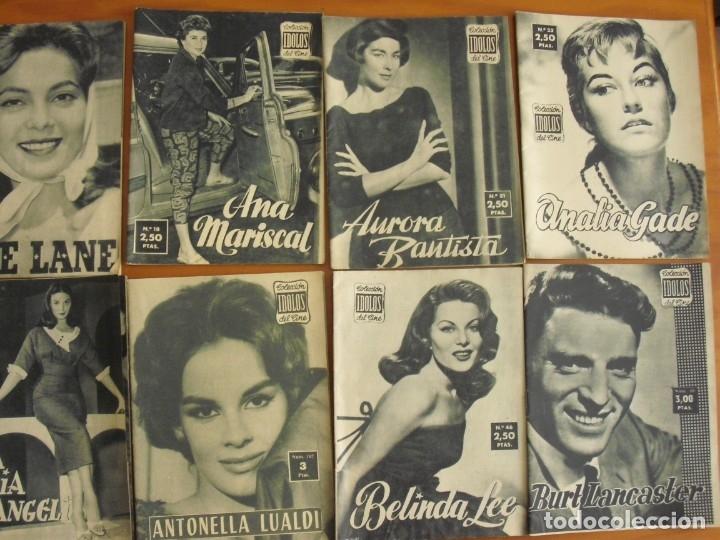 Cine: LOTE DE 70 REVISTAS-TODAS DISTINTAS DE LA COLECCION IDOLOS DEL CINE AÑO 1958 -VER FOTOS - Foto 2 - 175411215