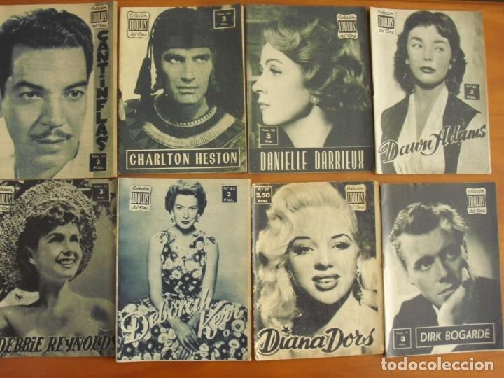 Cine: LOTE DE 70 REVISTAS-TODAS DISTINTAS DE LA COLECCION IDOLOS DEL CINE AÑO 1958 -VER FOTOS - Foto 3 - 175411215