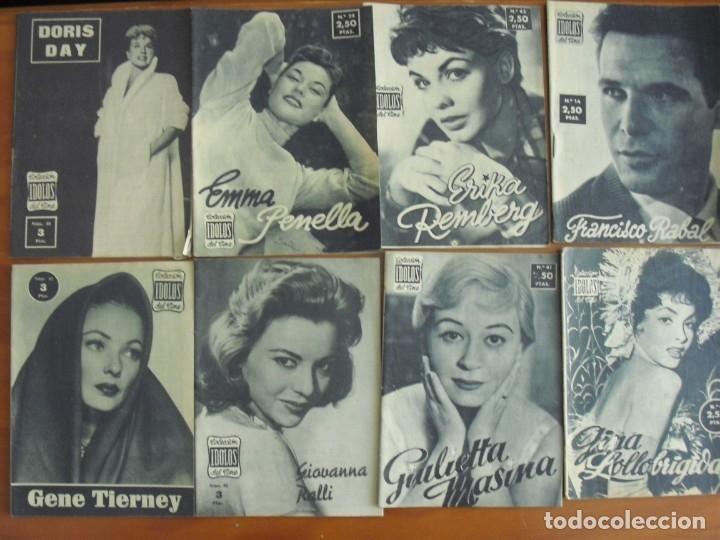 Cine: LOTE DE 70 REVISTAS-TODAS DISTINTAS DE LA COLECCION IDOLOS DEL CINE AÑO 1958 -VER FOTOS - Foto 4 - 175411215