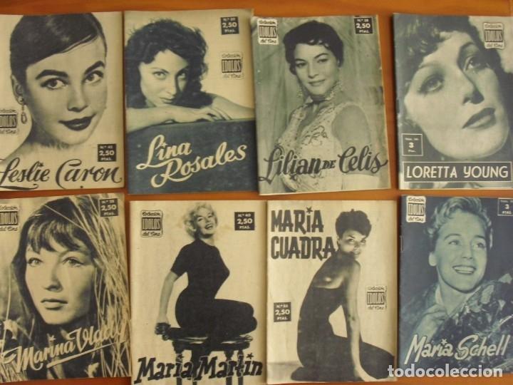 Cine: LOTE DE 70 REVISTAS-TODAS DISTINTAS DE LA COLECCION IDOLOS DEL CINE AÑO 1958 -VER FOTOS - Foto 7 - 175411215
