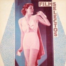 Cine: FILMS SELECTOS.Nº 293.EN PORTADA KAY SUTTON.30 MAYO 1936. Lote 175422392