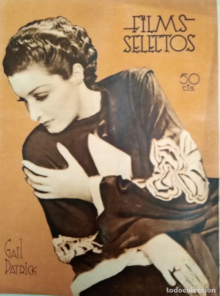 FILMS SELECTOS 1937 Nº 324 GAIL PATRICK (Cine - Revistas - Films selectos)