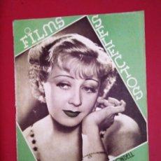 Cine: FILMS SELECTOS 1937 Nº 321 JOAN BLONDELL. Lote 175423914