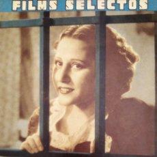 Cine: FILMS SELECTOS 1936 Nº 298 RAQUEL RODRIGO. Lote 175425157