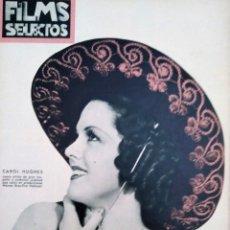 Cine: FILMS SELECTOS 1936 Nº 296 CAROL HUGHES. Lote 175425492