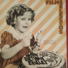 Cine: FILMS SELECTOS 1936 Nº 292 SHIRLEY TEMPLE. Lote 175426647