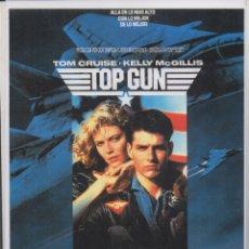 Cinema: REPRODUCCION DE CARTEL DE CINE: TOP GUN. IDOLOS DEL AIRE. 30X21,5 CM. PLASTIFICADO CARTELCI-099 . Lote 175493859