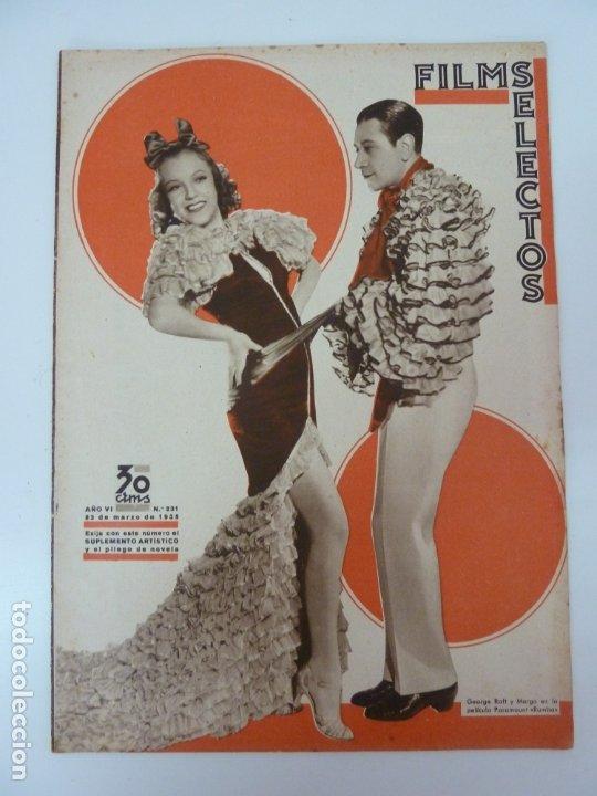 FILMS SELECTOS Nº 231. 23 DE MARZO DE 1935 (Cine - Revistas - Films selectos)