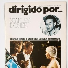 Cine: DIRIGIDO POR... Nº 18 (NOVIEMBRE/DICIEMBRE 1974) STANLEY DONEN . Lote 175536472
