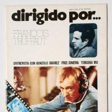 Cine: DIRIGIDO POR... Nº 22 (ABRIL 1975) FRANCOIS TRUFFAUT - GONZALO SUAREZ . Lote 175536710
