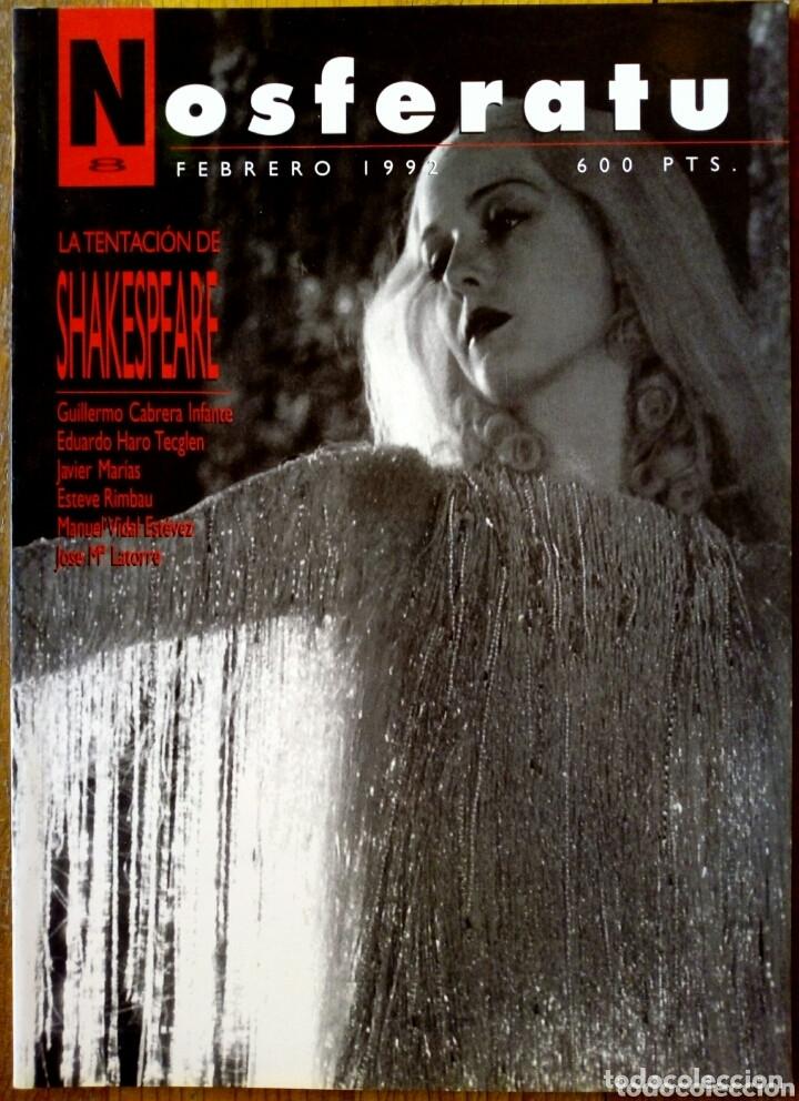 NOSFERATU N° 8 - LA TENTACIÓN DE SHAKESPEARE (Cine - Revistas - Otros)