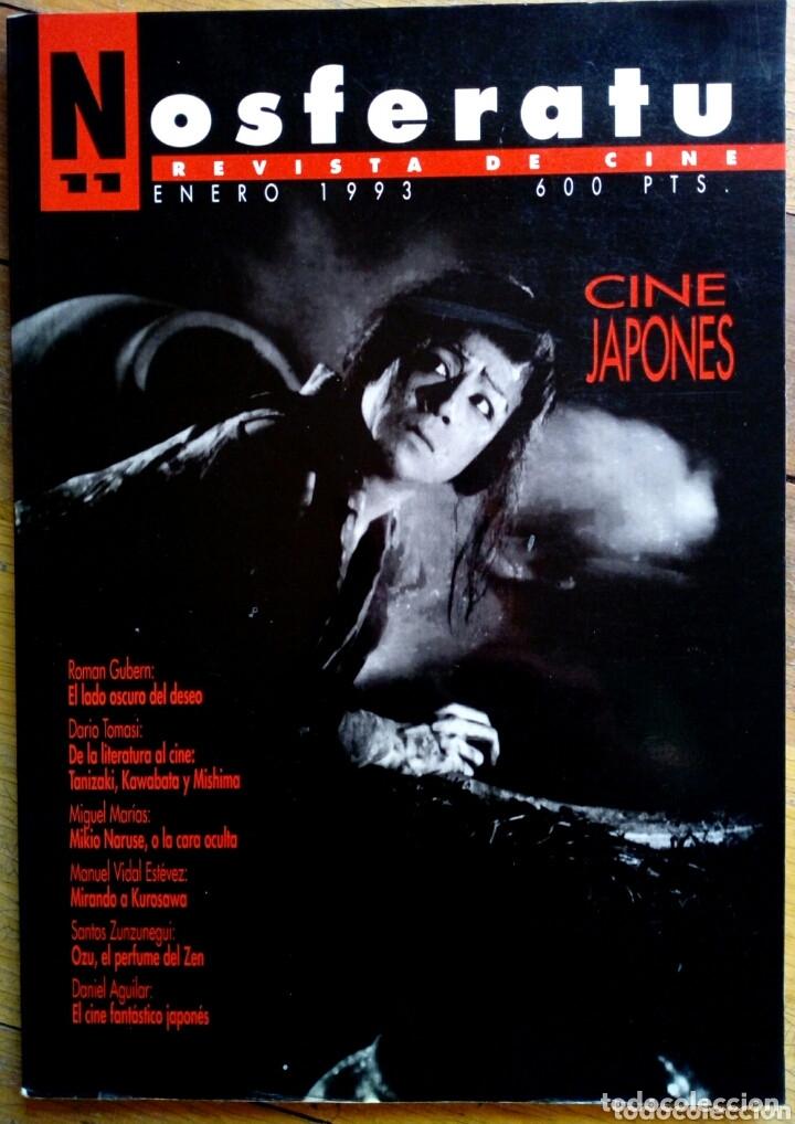 NOSFERATU N° 11 - CINE JAPONÉS (Cine - Revistas - Otros)
