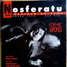Cine: NOSFERATU N° 11 - CINE JAPONÉS. Lote 175537428