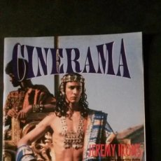 Cine: CINERAMA Nº 20-JAMES BOND-INDIANA JONES-RIVER PHOENIX-LA FAMILIA ADDAMS-STEPHEN KING. Lote 175748317