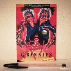 Cinéma: IMPRESO PAPEL -10*15 - RABID GRANNIES - ALBUM - TERROR GORE - TROMA. Lote 175815498