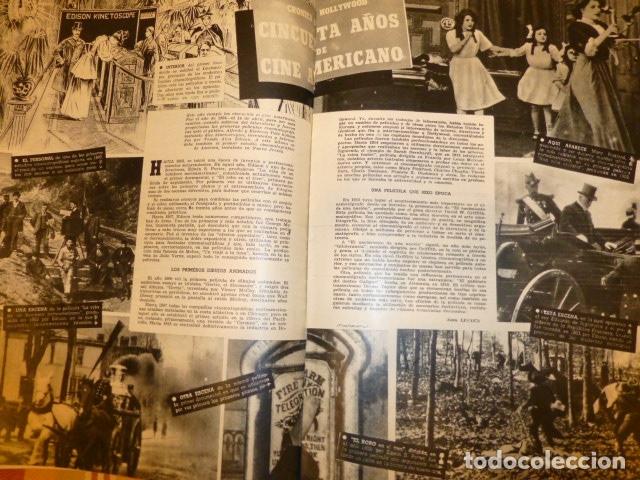 Cine: CAMARA REVISTA QUINCENAR CINEMATOGRAFICA ESPAÑOLA SEPTIEMBRE 1944 ISABELITA GARCES EN PORTADA - Foto 5 - 175860665