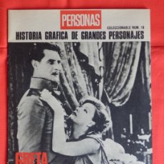 Cine: GRETA GARBO UN MISTERIOR IMPENETRABLE, REVISTA PERSONAL NÚMERO 18, IMPECABLE!.. Lote 175920443