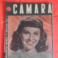 Cine: PAULETTE GODDARD, REVISTA CINEMATOGRAFICA CÁMARA, NOVIEMBRE 1942. Lote 175921789