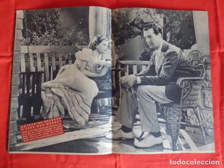Cine: hedy lamarr, revista cinematografica camara, marzo 1943 - Foto 2 - 175922118