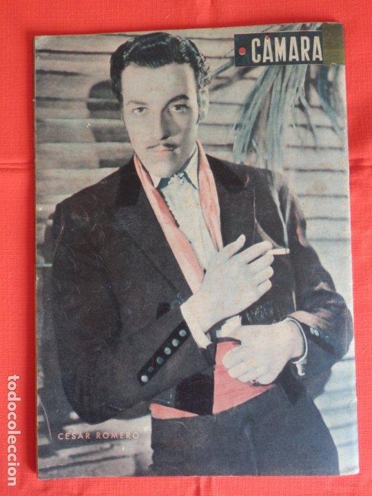 Cine: hedy lamarr, revista cinematografica camara, marzo 1943 - Foto 3 - 175922118