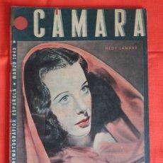 Cine: HEDY LAMARR, REVISTA CINEMATOGRAFICA CAMARA, MARZO 1943. Lote 175922118