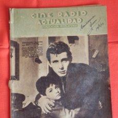 Cine: BAJO EL SOL DE ROMA, REVISTA CINE RADIO ACTUALIDAD ARGENTINA, AGOSTO 1949, 32 PÁGINAS. Lote 175923370