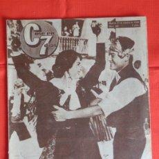 Cine: VICENTE PARRA E IRAN EORY, REVISTA CINE EN 7 DIAS, NÚM. 186,31 DE OCTUBRE DE 1964. Lote 175924317