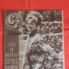 Cine: SOPHIE DAUMIER, REVISTA CIEN EN 7 DIAS, NUM. 184, 17 OCTUBRE DE 1964. Lote 175927930