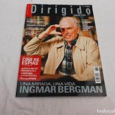 Cinema: DIRIGIDO POR... Nº 370. EXTRA. DOSSIER CINE DE ESPIAS (2). INGMAR BERGMAN. CAZA DE BRUJAS. MATA HARI. Lote 175968878