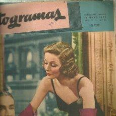 Cine: 3146.- FOTOGRAMAS - AÑO II Nº 13 - 15 DE MAYO DE 1947 - CINE . Lote 176273367