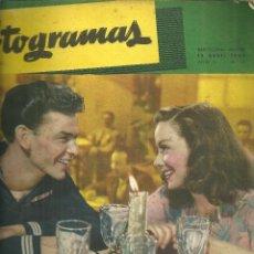 Cine: 3146.- FOTOGRAMAS - AÑO II Nº 11 - 15 DE ABRIL DE 1947 - CINE . Lote 176273472