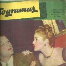 Cine: 3146.- FOTOGRAMAS - AÑO II Nº 20 - 1 SEPTIEMBRE DE 1947 - CINE . Lote 176273578