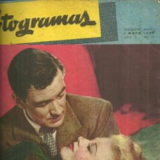 Cine: 3146.- FOTOGRAMAS - AÑO II Nº 12 - 1 DE MAYO DE 1947 - CINE . Lote 176273883