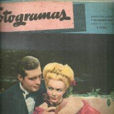 Cine: 3146.- FOTOGRAMAS - AÑO II Nº 18 - 1 AGOSTO DE 1947 - CINE . Lote 176274062