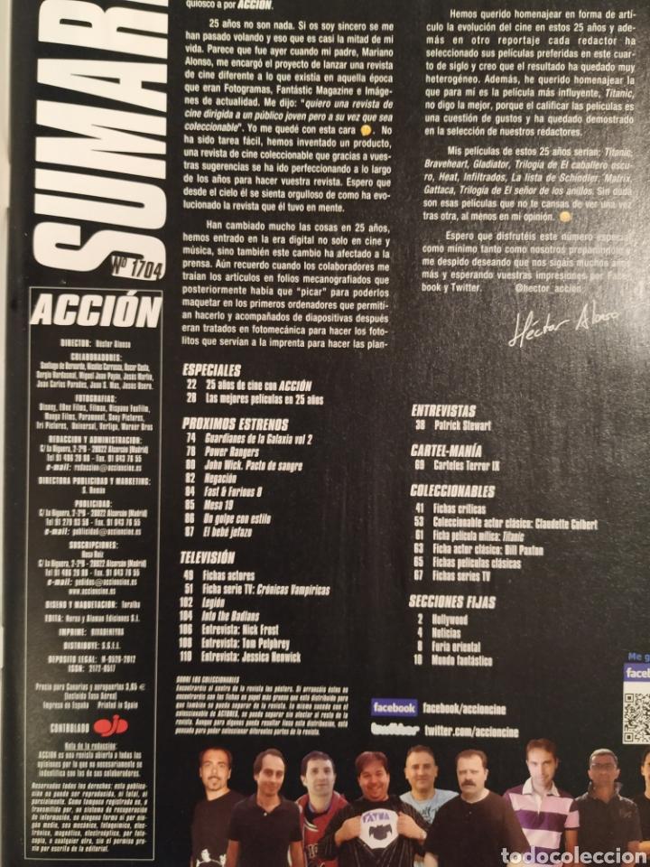 Cine: Revista de cine Acción Especial 25 aniversario n°1704 - Foto 2 - 176394688