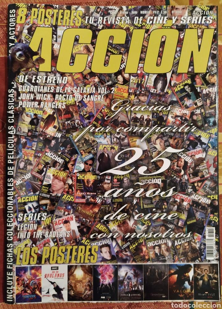 REVISTA DE CINE ACCIÓN ESPECIAL 25 ANIVERSARIO N°1704 (Cine - Revistas - Acción)