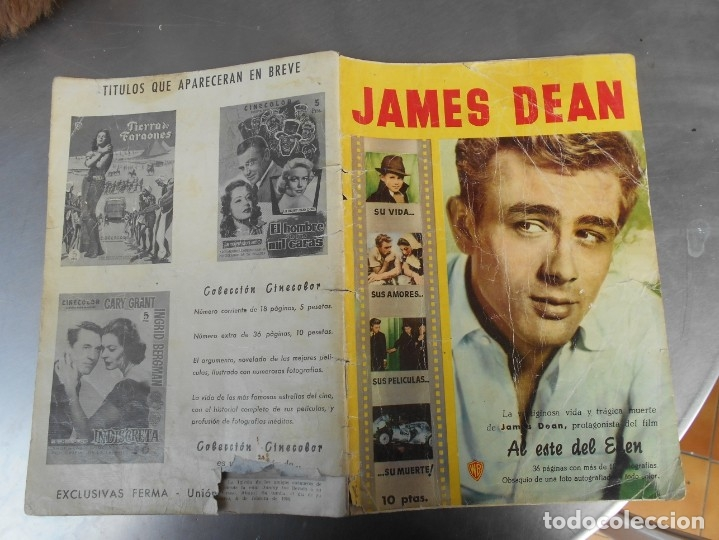 JAMES DEAN-REVISTA CINECOLOR-VER FOTOS (Cine - Revistas - Cinecolor)