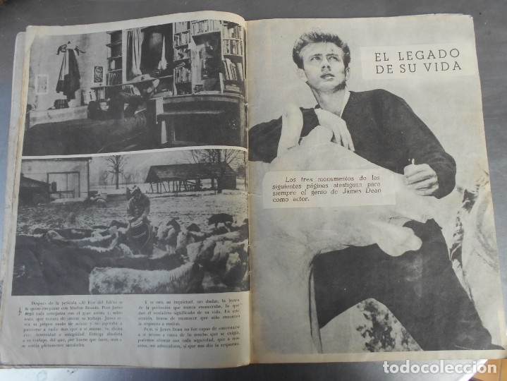 Cine: JAMES DEAN-REVISTA CINECOLOR-VER FOTOS - Foto 2 - 176428257