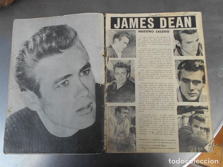 Cine: JAMES DEAN-REVISTA CINECOLOR-VER FOTOS - Foto 3 - 176428257