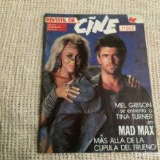 Cinema: REVISTA CINE VIDEO Nº 26 MAD MAX, MADONNA. Lote 176438902