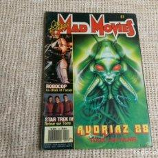 Cine: CINE FANTASTIQUE MAD MOVIES Nº 51, 1988 - AVORIAZ 88 - ROBOCOP - STAR TREK IV. REVISTA DE CINE FRAN. Lote 176466152