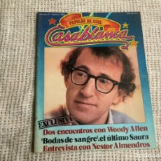 Cine: CASABLANCA Nº 2 - 1981 PAPELES DE CINE ,NESTOR ALMENDROS, WOODY ALLEN, TRUFFAUT, RAOUL WALS. Lote 176471925