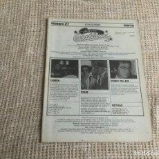 Cine: CASABLANCA Nº 27 , PAPELES DE CINE 1983 - EALING, BERTRAND BLIER, CARMEN, SYDNEY POLLACK. Lote 176472273